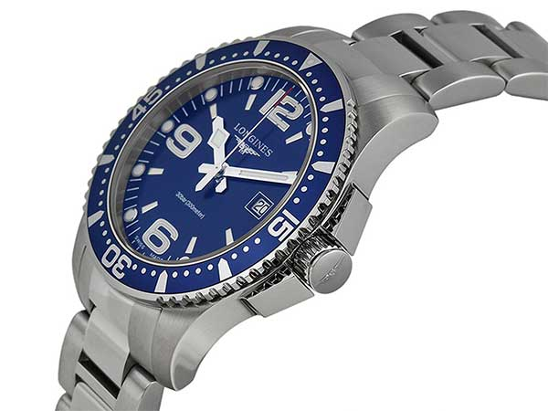Longines Hydroconquest Blue Dial Stainless Steel